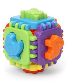 Ratnas Nursery Cube Game - Multicolor