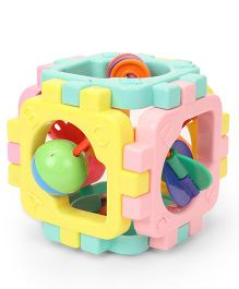 Ratnas Cubic Rattle - Multicolor
