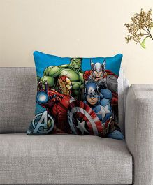 Marvel Avengers Filled Cushion With Cover - Multi Color
