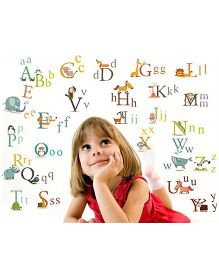 Oren Empower Educational Large Wall Sticker - Multicolor