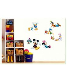 Oren Empower Mickey Mouse & Friends Wall Decal Large - Multicolor