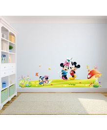 Oren Empower Mickey & Minnie Mouse Wall Sticker - Multi Colour