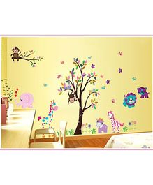 Oren Empower Wall Sticker Tree Print - Multicolor