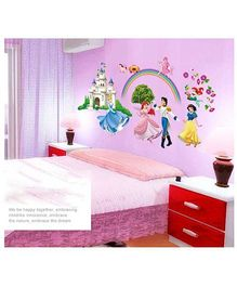 Oren Empower Disney Princess Wall Sticker - Multicolor