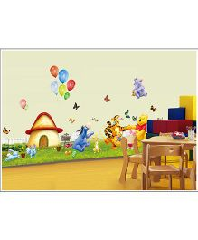 Oren Empower Wall Sticker Bear Print  - Multicolor