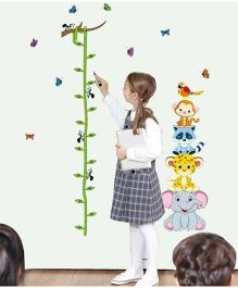 Oren Empower Height Measurement Wall Sticker - Multi Colour