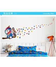 Oren Empower Doraemon Wall Sticker - Multi Colour
