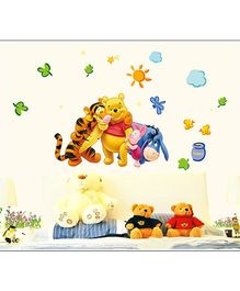 Oren Empower Disney Winner The Pooh & Friends Wall Decals - Multicolour