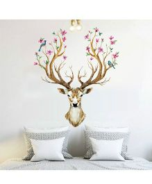 Oren Empower The Sika Deer Wall Decals - Brown