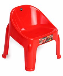 Ratnas Plastic Chair - Red