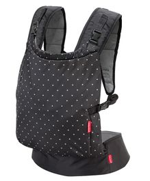 Infantino Zip Travel 2 Way Baby Carrier - Black