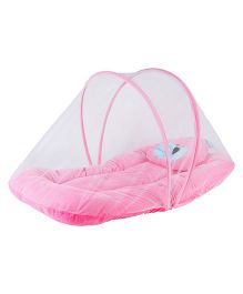 My Newborn Mosquito Net With Mattress - Pink