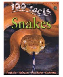100 Facts About Snakes By Barbara Taylor - English