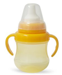 Pigeon Mag Mag Spout Cup With Handle Yellow - 200 ml