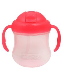 Pigeon Mag Mag Straw Cup with Handle Pink - 200 ml