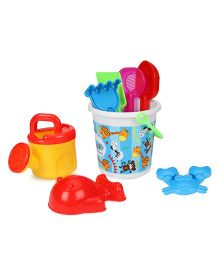 Sunny Beach Set - 8 Pieces (Color & Style May Vary)