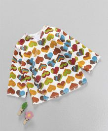 Dear Tiny Baby Long Sleeves Shirt - Multicolor