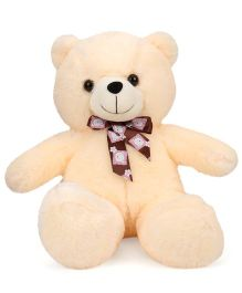 Dimpy Stuff Teddy Bear Soft Toy Cream - 42 cm