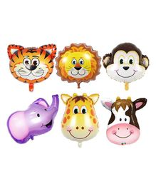 Party Propz Jungle Theme Balloons - Pack Of 6