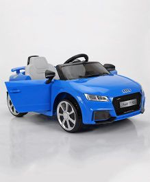 Marktech Audi TT RS Plus Battery Operated Ride On Car - Blue