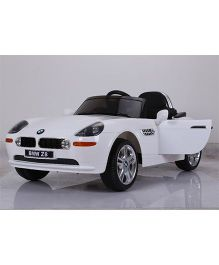 Marktech BMW Z8 Battery Operated Ride On Car - White
