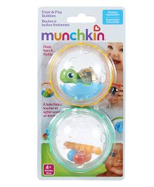 Munchkin Float & Play Bubbles Bath Toy Set of 2 - Multicolour