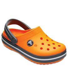 Crocs Crocband Clog - Blazing Orange & Slate Grey
