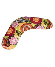 Kanyoga Cotton Wheat Grains Filler Warming Neck Wrap Floral Print - Multicolour