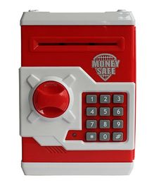 Toyshine Money Bank With Electronic Lock - Red