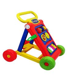 Toyshine Rattling Push Walker (Colour May Vary)