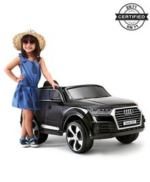 Audi Q7 Battery Operated Ride On - Black