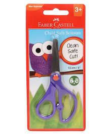 Faber Castell Child Safe Scissor- Purple 13cm