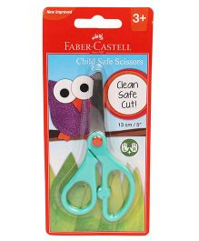 Faber Castell Child Safe Scissor - Sea Green 13 cm