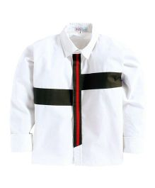 KIDS CLAN Party Wear Shirt - White