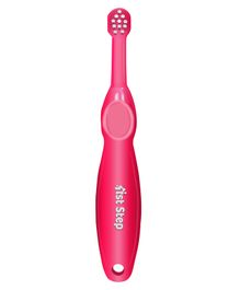1st Step Baby Toothbrush Red - 11 cm