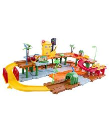 Webby Traffic Light Train Set With Music Multicolor - 66 Pieces