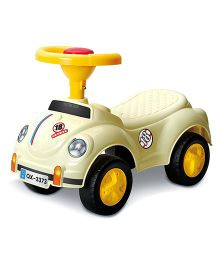 Saffire Herbie Ride On Car - Off White