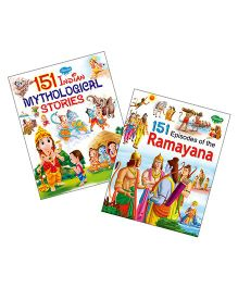 Sawan Story Book 151 Series Mythological Stories & Ramayana Set of 2 - English