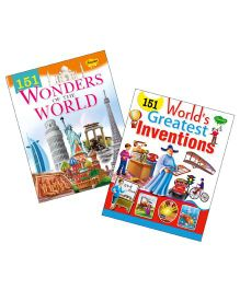 Sawan Knowledge Books 151 Series Greatest Inventions & Wonders of World Set of 2 - English