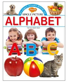 Sawan My First Board Book of Alphabet - English