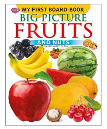 Sawan My First Board Book Big Picture Fruits - English