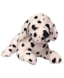 My NewBorn Puppy Soft Toy Cream Black - Height 26 cm