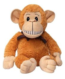 My NewBorn Monkey Soft Toy Cream Brown - Height 26 cm