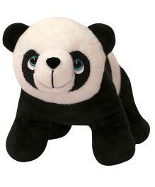 My NewBorn Panda Soft Toy Cream Black - Height 26 cm