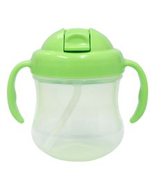 Pigeon Mag Mag Straw Cup With Handle Green - 200 ml