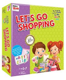 Braino Kids Shopping Dress Cards - Multi Color