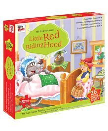 Braino Kids Little Red Riding Hood Jigsaw Puzzle - 26 Pieces