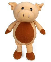 Play Toons Piggy Soft Toy Beige Brown - Height 30 cm