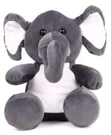 Play Toons Elephant Soft Toy Grey - Height 25 cm