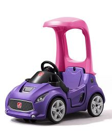 Step2 Turbo Coupe Foot To Floor Ride On Car - Purple
